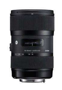 Objectif Sigma 18-35mm F 1.8 DC HSM ART pour APSC Nikon