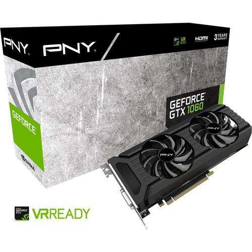 Carte graphique PNY GeForce GTX 1060 6Go ou Gigabyte (mini ITX)