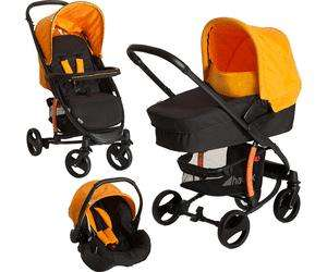 Set poussette combinée Hauck Miami 4 S Trio - orange