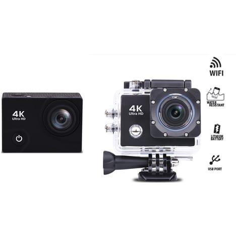 Caméra sportive Hyundai H4K7 - avec boitier étanche