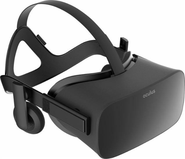 Casque de réalité virtuelle Occulus Rift