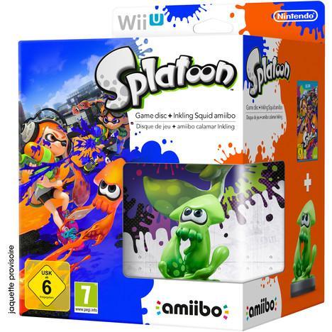 Jeu Splatoon sur Nintendo Wii U - Edition Limitée avec Amiibo