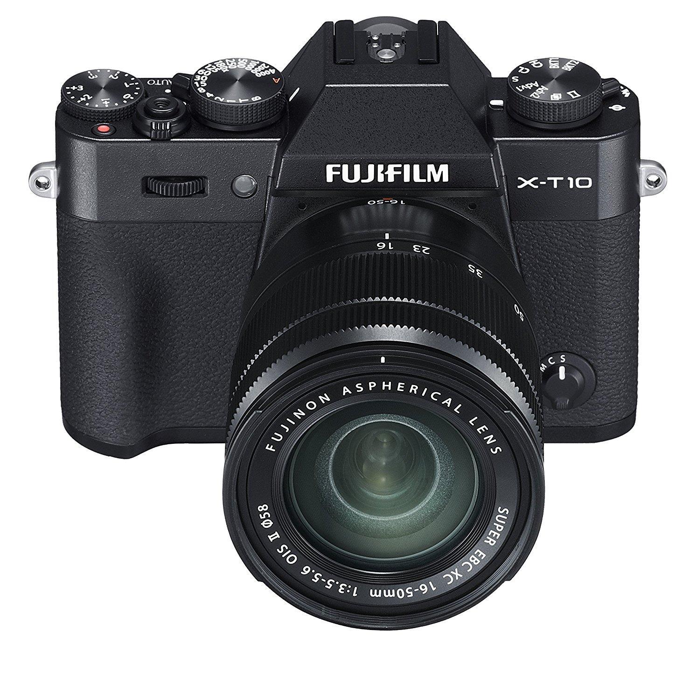 Appareil photo Hybride Fujifilm X-T10 + Objectif XC 16-50 mm II Noir + 10% CC adhérent