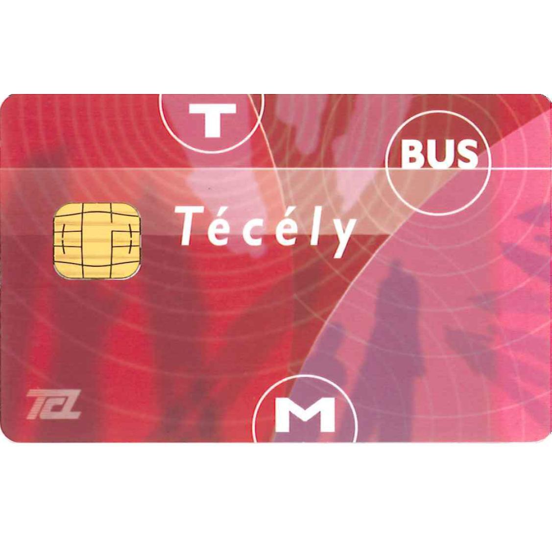 Carte Técély (TCL - Transport en Commun Lyonnais) offerte au lieu de 5€