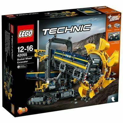 Jouet Lego Technic - La pelleteuse à godets (42055)