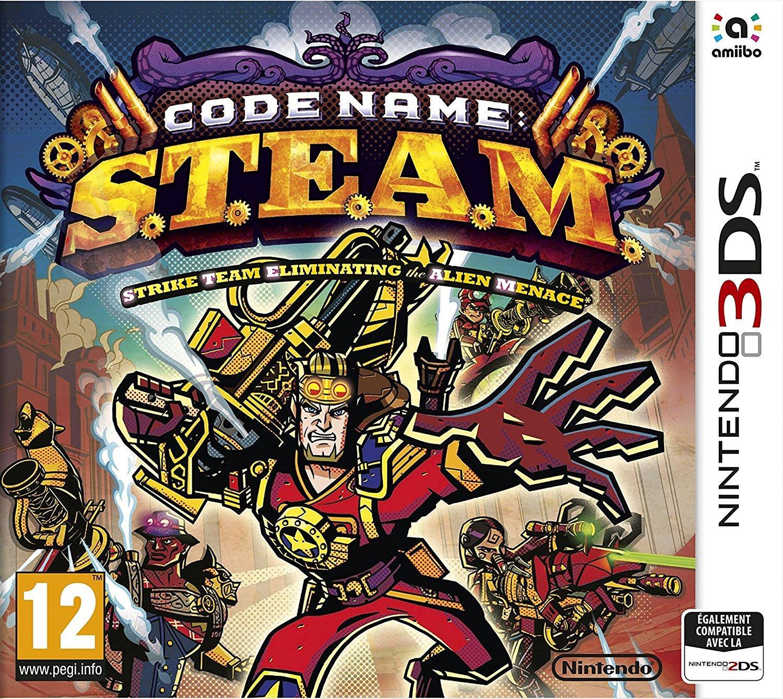 Code Name : S.T.E.A.M. sur Nintendo 3DS