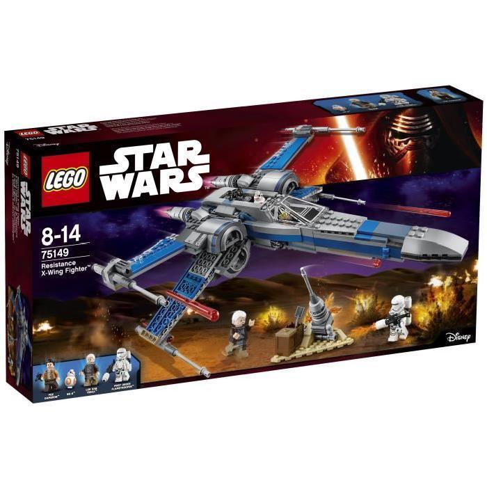 Jouet Lego Star Wars 75149 X-Wing Fighter de la Résistance