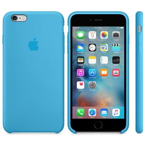 Coque en Silicone pour smartphone Apple iPhone 6+ / 6S+ - bleu