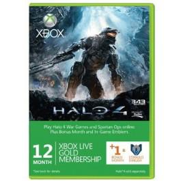 Abonnement de 13 mois au Xbox Live (Gold) +emblème pour Halo 4 (Xbox 360 & One)