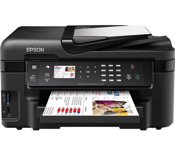 Imprimante Multifonction encre couleur Epson WorkForce WF-3520DWF réseau + sans fil (après ODR de 20€)