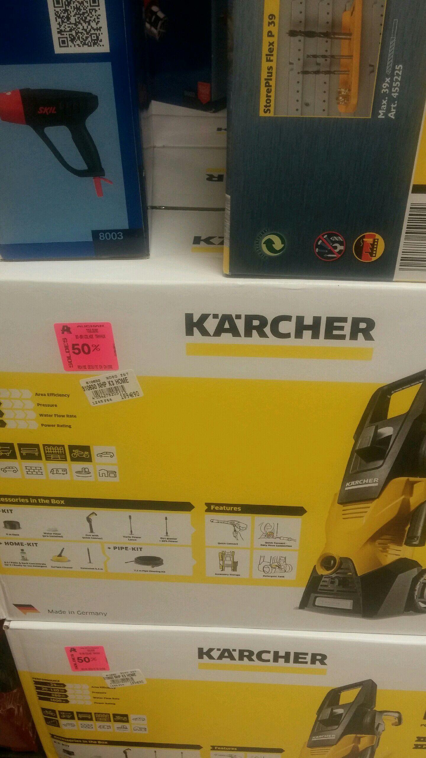 Nettoyeur haute pression Kärcher à -50%