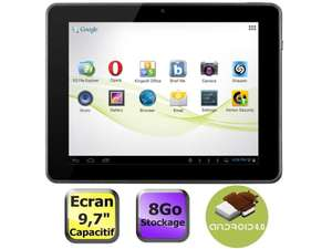 Tablette Memup SlidePad 9716DC Dual Core 16 Go - Reconditionné