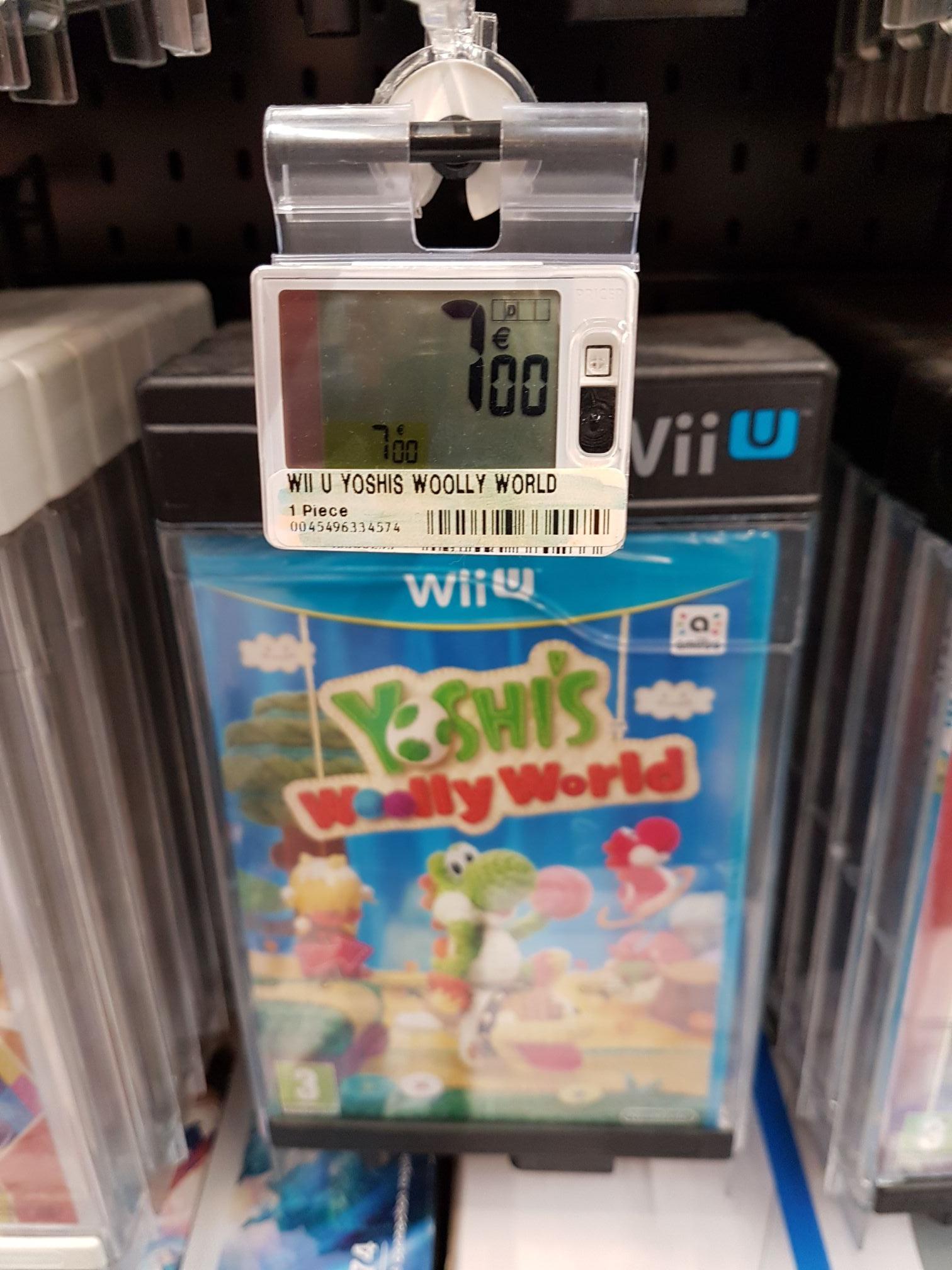 Kirby et le Pinceau arc-en-ciel et Yoshi's Woolly World sur Wii U à l'unité