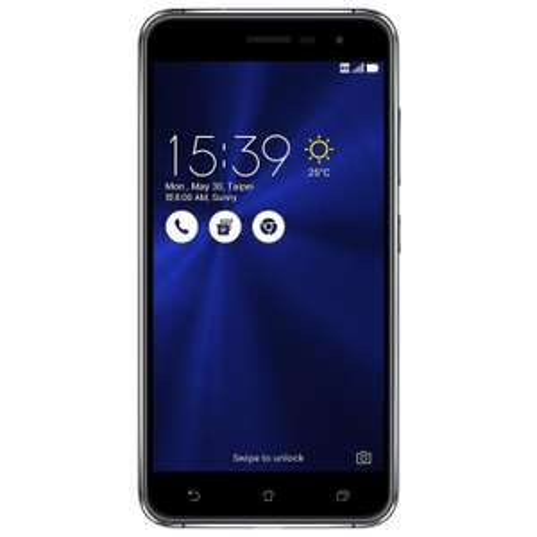 """Smartphone 5.2"""" Asus ZenFone 3 (ZE520KL) - 4 Go de RAM, 32 Go, noir (via ODR de 50€)"""