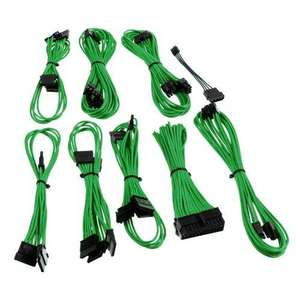 Kit de câbles gainés CableMod B-Series Straight Power pour alimentation Be Quiet! Straight Power CM, Vert