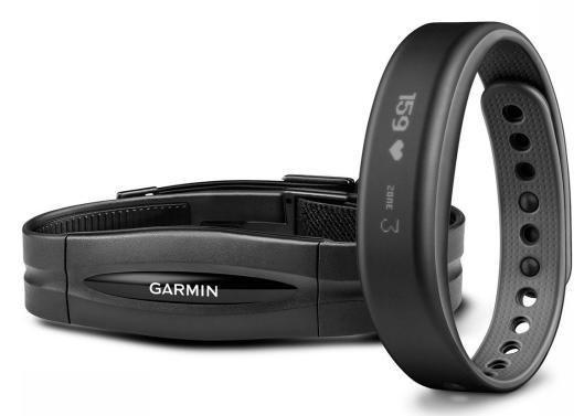 Bracelet d'activité Garmin Vivosmart HRM Petit - Noir