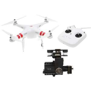 "DJI Drone Phantom 2 ""Upgraded"" V2.0 et Zenmuse H4-3D"