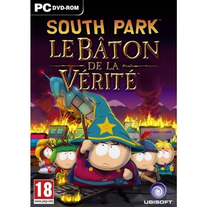 Sélection de jeux vidéo en promotion - Ex : South Park : Le Bâton de la vérité sur PC