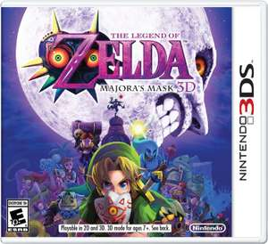 The Legend of Zelda: Majora's Mask sur 3DS