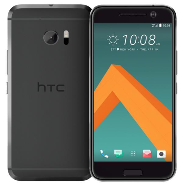 "Smartphone 5.2"" HTC 10 - SnapDragon 820, 4 Go de RAM, 32 Go, noir"