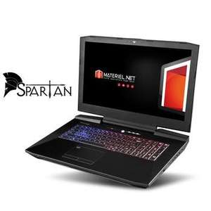 "PC portable 17.3"" full HD Materiel.net Spartan (i5-6600K, GTX-1070 SLI, 16 Go de RAM, 1 To + 256 Go en SSD, Windows 10)"