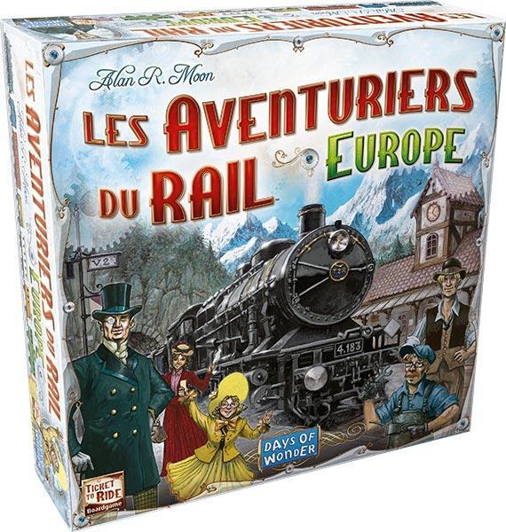 Sélection de jeux de société soldés - Ex : Les Aventuriers du Rail : Europe
