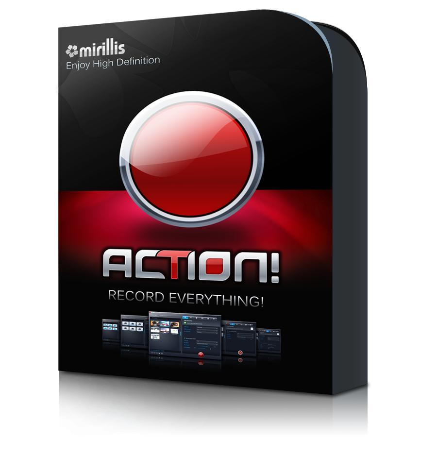 Logiciel enregistreur d'écran/jeux vidéos Action Mrillis