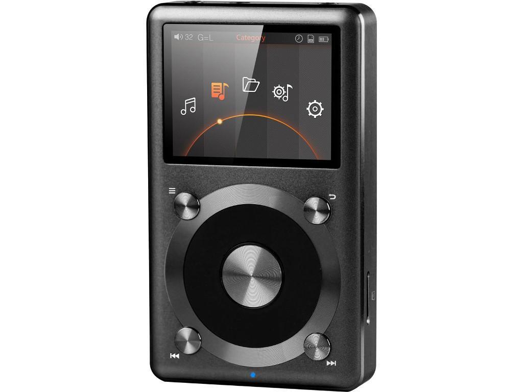Baladeur audiophile FIIO X3 II Noir ou gris + Carte MicroSD SanDisk 64 Go