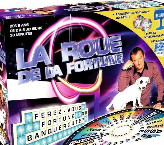 Jeu de plateau - La Roue de la Fortune