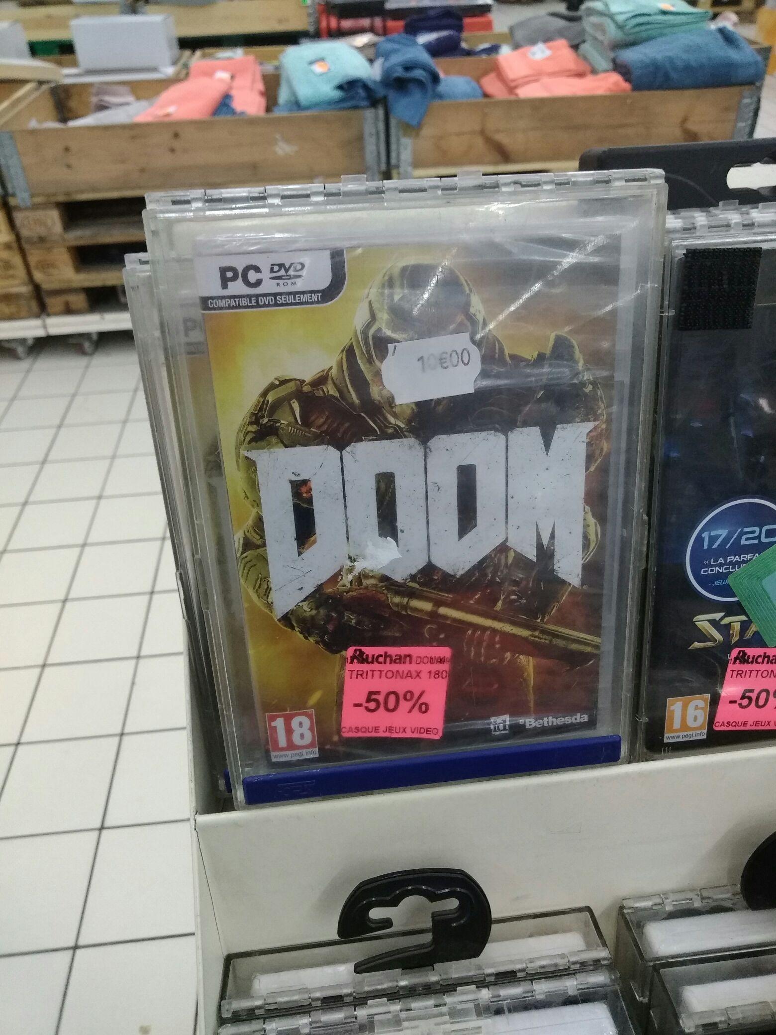 Jeu Doom sur  PC