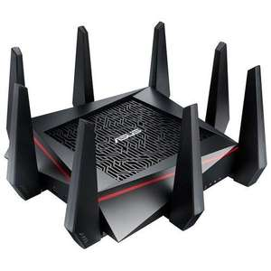 Router WIFI  Asus RT-AC5300 AC5300 Triple Bande, Trend Micro Protection et WTFast