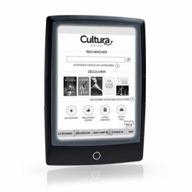Liseuse Cybook Odyssey HD FrontLight - Noire