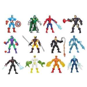 Selection de figurines Super Heroes Mashers
