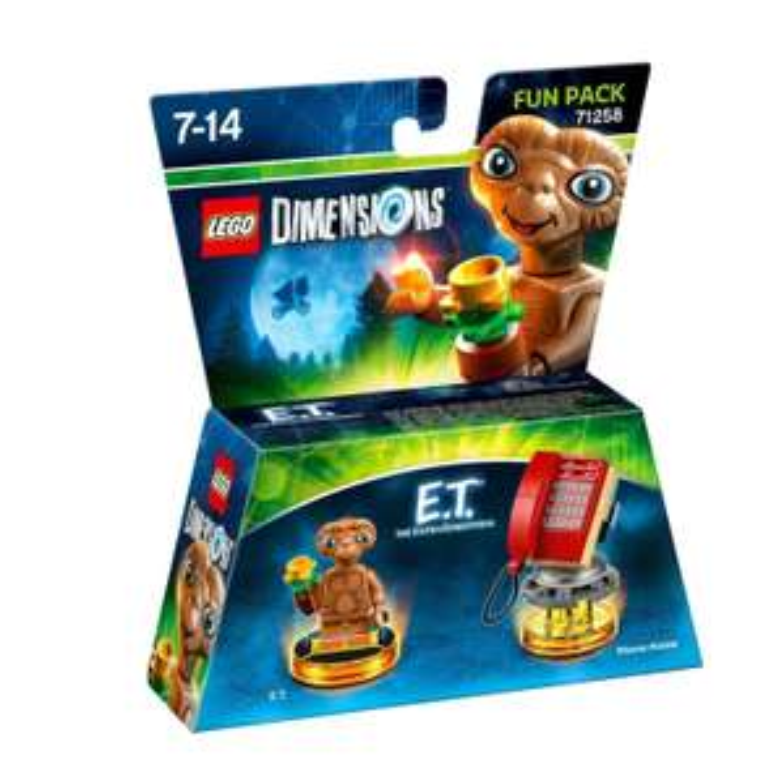 Figurine Lego Dimensions - E.T. l'extra-terrestre - Pack Héros : Fun Pack