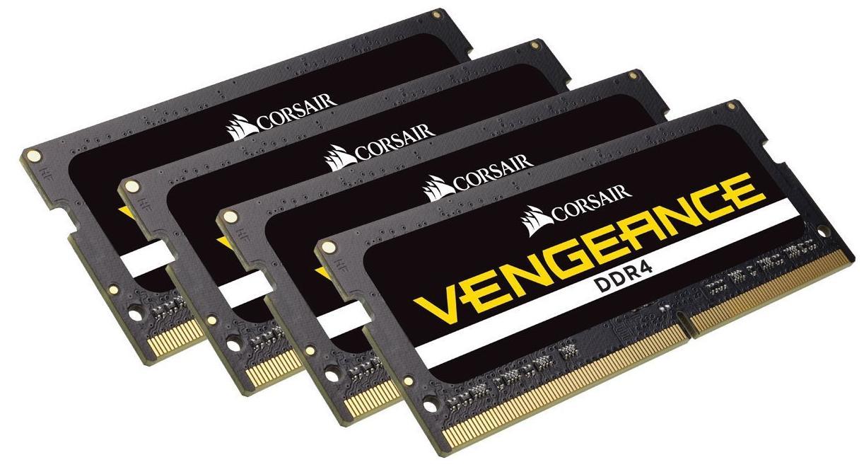 Barrette de ram SODIMM DDR4 Corsair Vengeance Performance 64Go (4x16Go) - 2400Mhz