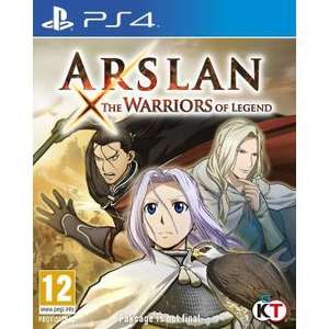 Arslan: The Warriors of Legend sur PS4