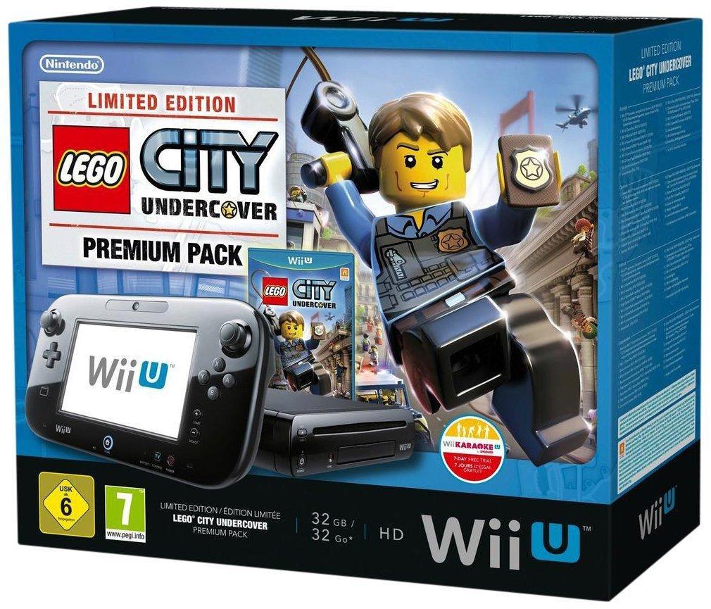 Console Nintendo Wii U 32 Go noire + Lego City : Undercover