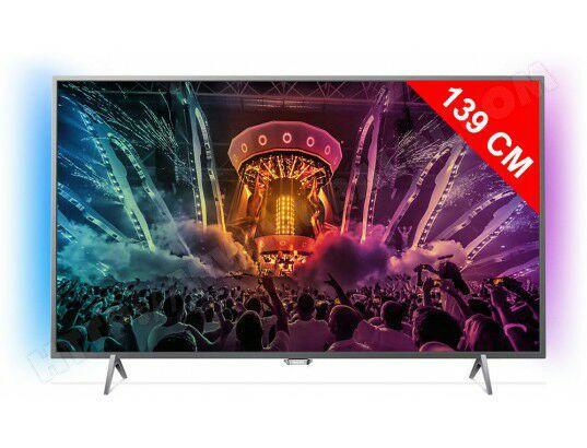 """TV 55"""" Philips 55PUS6201/12 - Full LED, UHD, Smart 4K"""