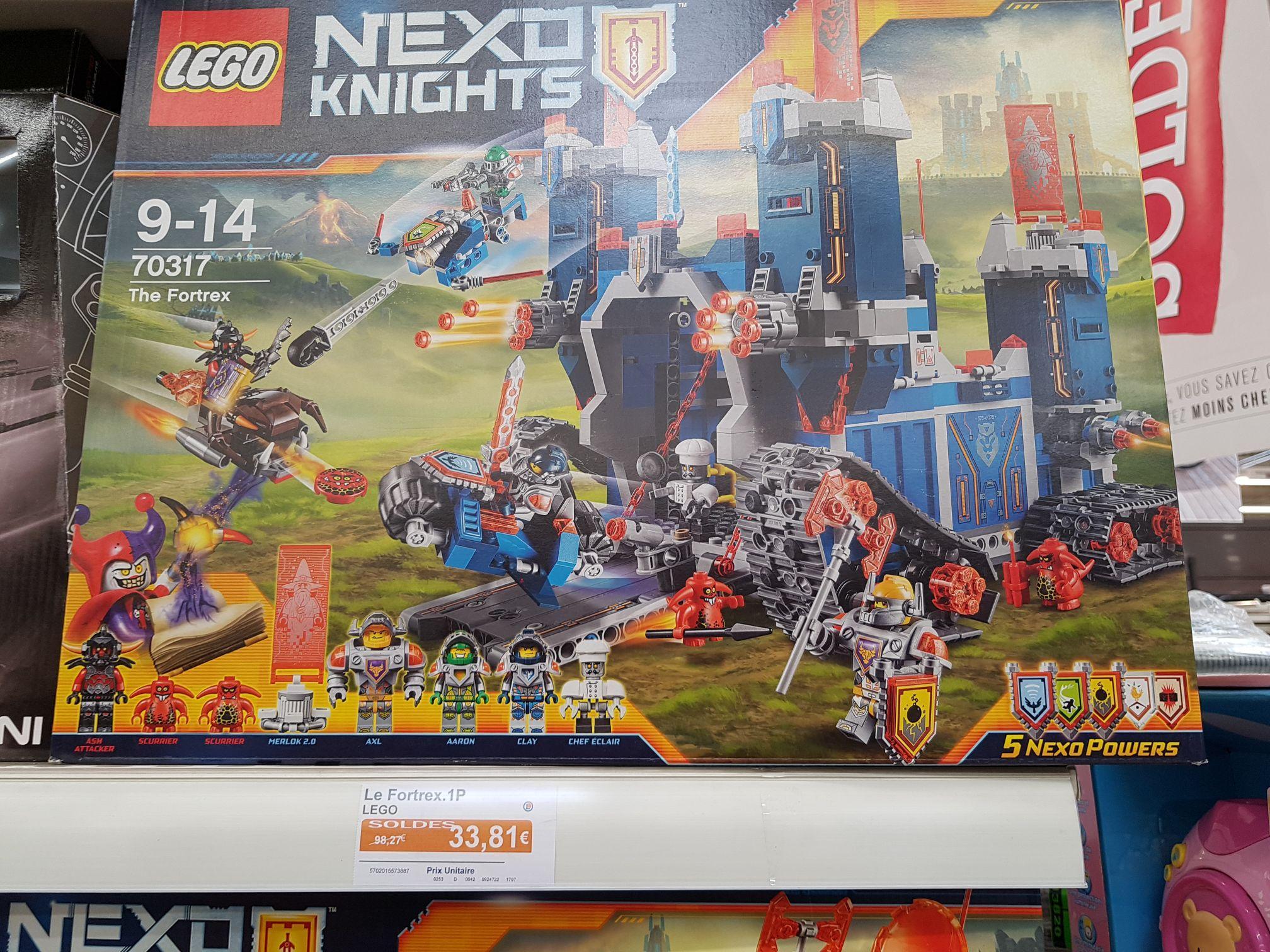 Château Lego 70317 Nexo Knights - Le Fortrex