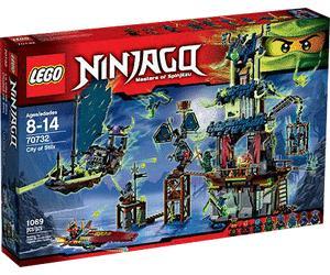 Jouet Lego Ninjago - La ville de Stiix (70732)