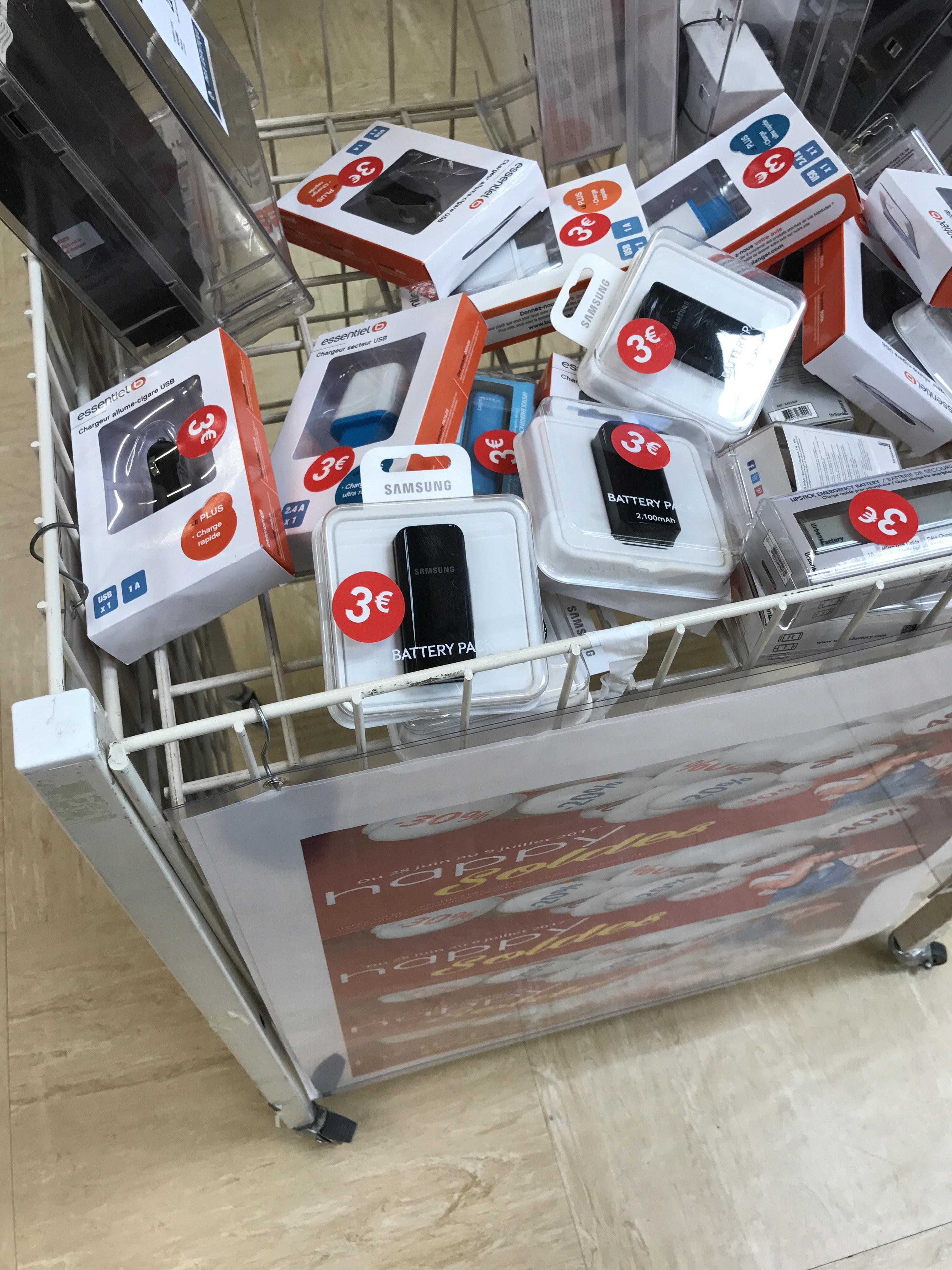 Batterie externe Samsung 2100mAh