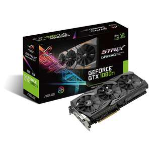 Carte graphique Asus GeForce GTX 1080 Ti Strix - 11 Go DDR5X