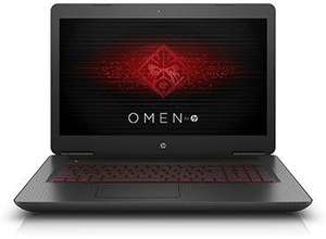 "PC Portable 17.3"" Hp Omen 17-w207nf - Full HD IPS, 16 Go RAM, i7-7700HQ, HDD 1 To + 256 Go SSD, GTX 1070 - 8 Go, Windows 10"