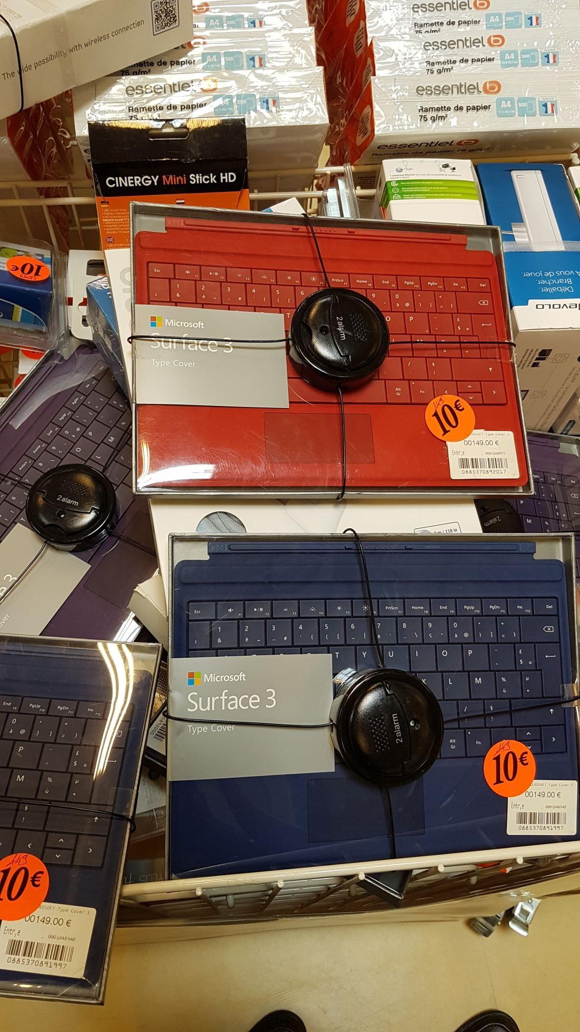 Clavier Microsoft pour tablette Microsoft Surface 3