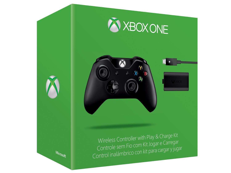 Manette sans-fil Microsoft Xbox One (avec le câble USB + batterie)