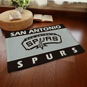 Tapis de salon Shaggy 80mm 40x60 cm motif San Antonio Spurs ou autre