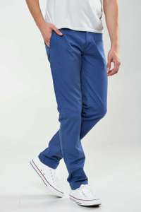 Chino Homme Crossby Combine Bleu