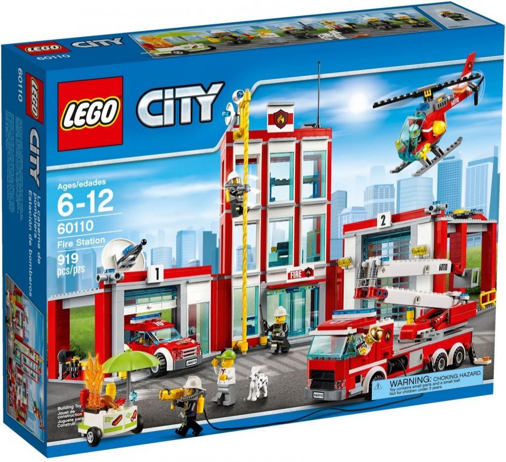 La Caserne des Pompiers Lego City 60110