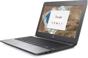 "Chromebook HP 11-v001nf 11,6"" Gris (Intel Celeron, 4Go de RAM, 16 Go, Intel HD 400, Chrome OS)"