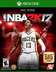 Jeu NBA 2K17 sur Xbox One